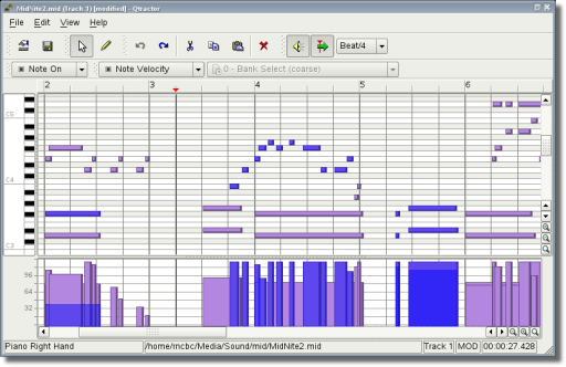 The Seventh Draught - MIDI Editor's debut! | rncbc org